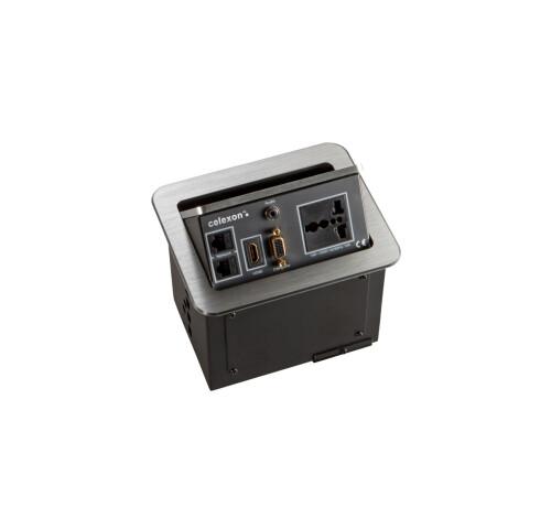 celexon tilted AV desk face plate Expert TA-100S (INT)
