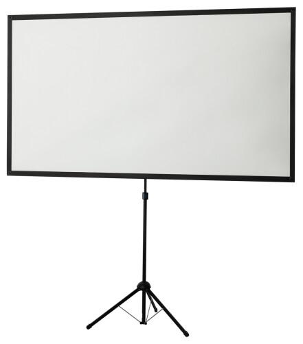 Ecran de projection à pied ultra-léger celexon 177 x 100cm