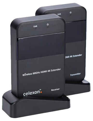 celexon Expert Wireless HDMI-set WHD30M - 4K